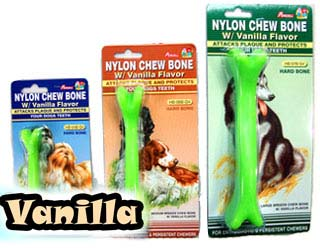 Percell Hard Nylon Chew Bone (Vanilla Flavour)