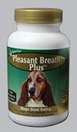 NaturVet Pleasant Breath Plus Tablets