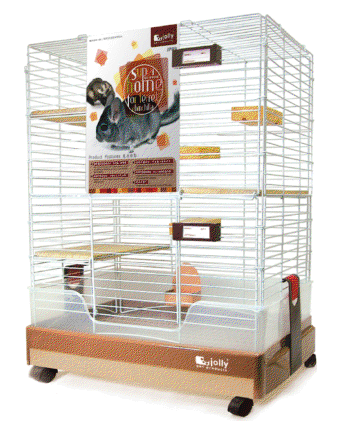 Jolly Super Home for Chinchilla