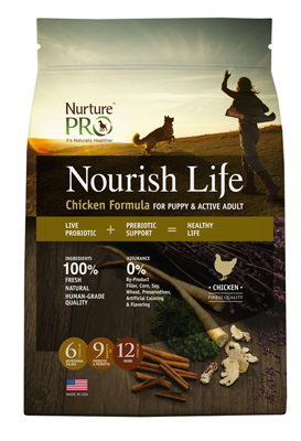 nurture pro nourish life Chicken for Puppy and Active Adult