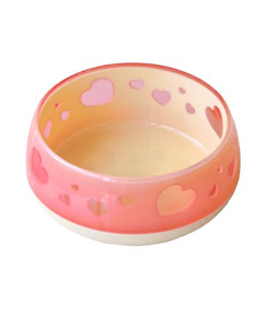 petzroute dog pink bowl