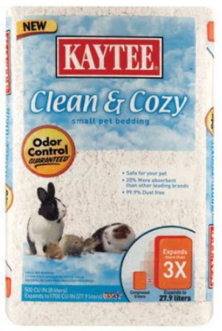 Kaytee Clean & Cozy Bedding - White
