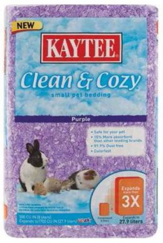 Kaytee Clean & Cozy Bedding - Purple