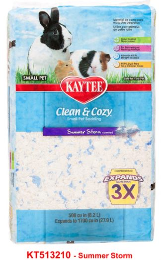 Kaytee Clean & Cozy Bedding - Summer Storm