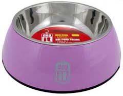 Dogit 2 in 1 Durable Bowl - Pink