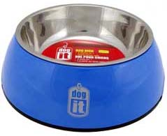 Dogit 2 in 1 Durable Bowl - Blue