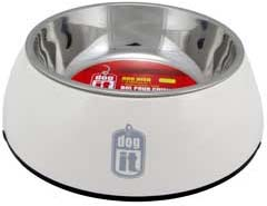 Dogit 2 in 1 Durable Bowl - White