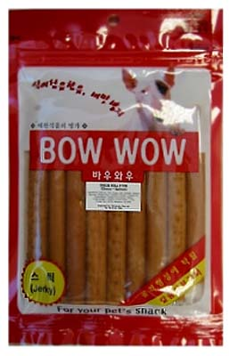 Bow Wow Cheese & Salmon Roll Stick