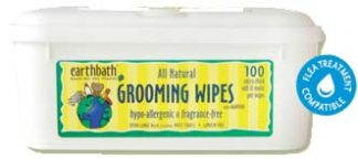 Earthbath Grooming Wipes- Hypo-Allergenic Fragrance Free