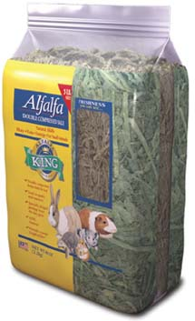 Alfalfa King - Alfafa Hay (Double-Compressed Bag) - 5lbs