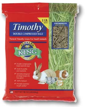 Alfalfa King - Timothy Hay (Double-Compressed Bag) - 16oz