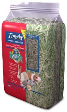 Alfalfa King - Timothy Hay (Double-Compressed Bag) - 4lbs