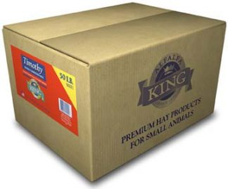 Alfalfa King - Timothy Hay (Double-Compressed Box) - 50lbs