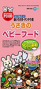 Marukan Rabbit / Chinchilla Baby Main Food Fruit & Vegetables