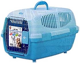 Marukan Pet Carrier Small - Pastel Blue