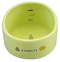 Marukan Rabbit Feeder with Hood