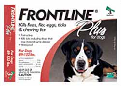Frontline Plus for Extra Large Dogs 40-60kg