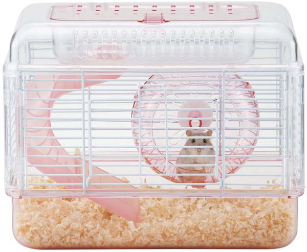 Gex Abseton Hamster Clear Palace Pink