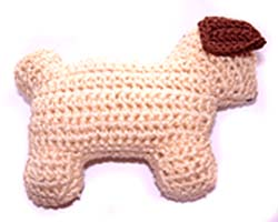 Ju-Be Dog Mini 2D Beige Dog Toy