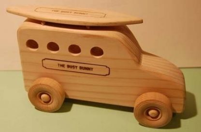 Busy Bunny - Surfmobile Wood Toy