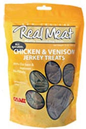 Canz Real Meat Dog Treat - Chicken & Venison Jerky