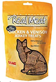 Canz Real Meat Cat Treat - Chicken & Venison Jerky