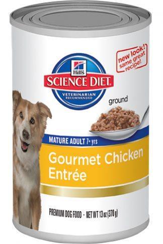 Science Diet Canine Mature Adult Chicken - 13oz x 12