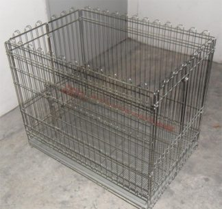 Stainless Steel Playpen with bottom case