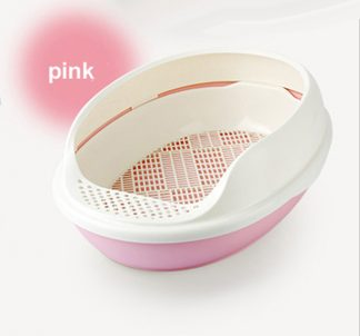 Boazz 3pc Cat Litter System - Pink