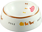 Marukan  Pet Feeder Decorative Porcelain Bowl (S)