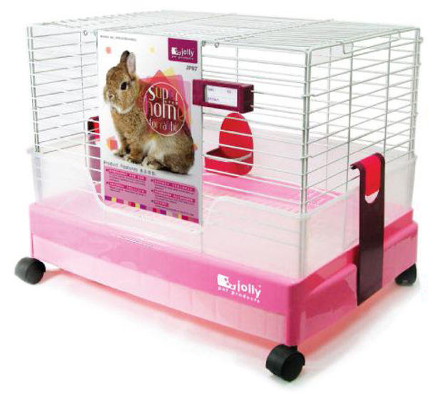 Jolly Super Home for Rabbit Pink