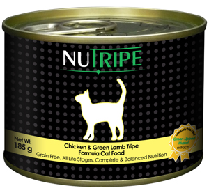 Nutripe Chicken with Green Tripe Canned Cat Food