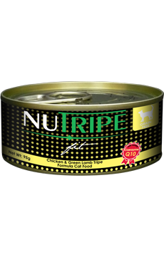 Nutripe Fit Cat Cans - Chicken & Green Lamb Tripe Formula