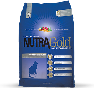 NutraGold Holistic Indoor Senior Cat