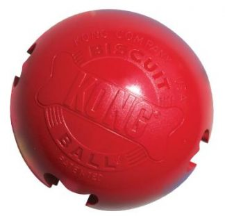 KONG - Classic Rubber Toy - Classic Kong Biscuit Ball