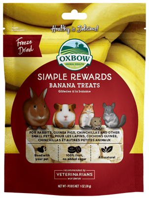 oxbow banana treat O412