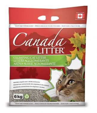 Canada Cat Litter -  Baby Powder