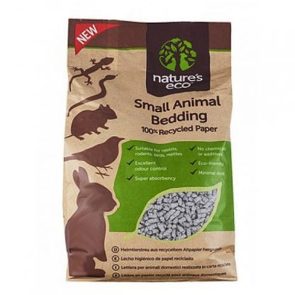 99 promo Nature's Eco - Small Animal Bedding (Recycle Paper) 30L