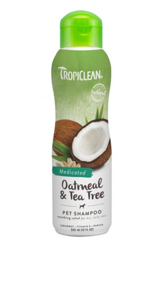 Tropiclean Natural Oatmeal & Tea Tree Shampoo