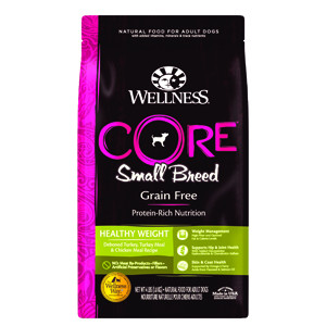 wellness core small breed healthy weight