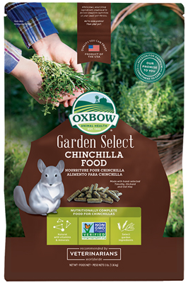 oxbow garden select chinchilla