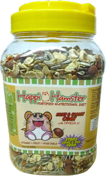 Happi Hamster Healthy Long Life Fortified Nutritional Diet