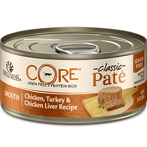 wellness core cat PATE Chicken Turkey Chicken Liver
