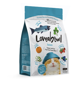 LOVEABOWL CAT Salmon