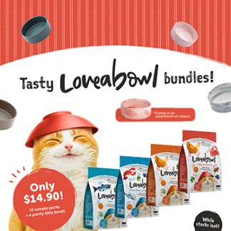 LOVEABOWL CAT BUNDLE PROMO