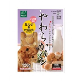 MARUKAN SOFT BREAD FOR DOG MILK & SWEET POTATO