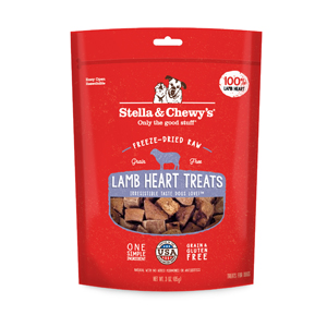 stella chewy single ingredient lamb heart dog treat